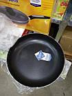 Сковородка A-plus 28 см со стеклянной крышкой, фото 7