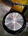 Сковородка A-plus 28 см со стеклянной крышкой, фото 8