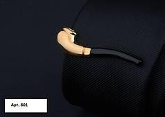 Затиск для краватки Трубка