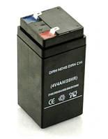 Аккумулятор: 4 V 4 Ah  2020.05(1)  (для весов, фонарей, радиоприемников)