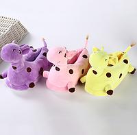 Дитячі тапочки - іграшки Жирафи, фото 1