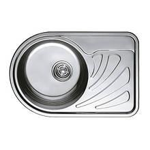 Мийка кухонна HAIBA 67x44 (decor) (HB0557)