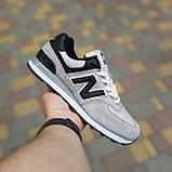 Кросівки чоловічі розпродаж New Balance 574 АКЦІЯ 750 грн 45й(28,5 см), 46(29см) копія люкс, фото 4