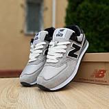 Кросівки чоловічі розпродаж New Balance 574 АКЦІЯ 750 грн 45й(28,5 см), 46(29см) копія люкс, фото 5