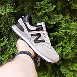 Кросівки чоловічі розпродаж New Balance 574 АКЦІЯ 750 грн 45й(28,5 см), 46(29см) копія люкс, фото 7