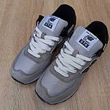 Кросівки чоловічі розпродаж New Balance 574 АКЦІЯ 750 грн 45й(28,5 см), 46(29см) копія люкс, фото 9
