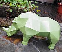 Носорог 3Д модель papercraft