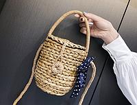 Плетеная маленькая сумочка, фото 1