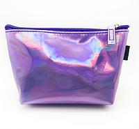 Пенал-косметичка фиолетовая