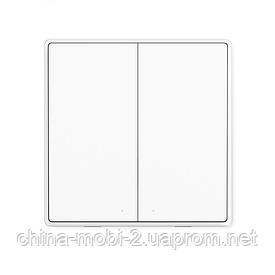 Бездротовий вимикач Xiaomi Aqara Wireless Switch D1 (2 кнопки)
