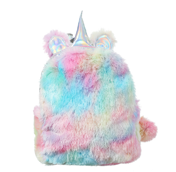Рюкзак Единорог разноцветный