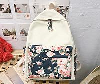 Рюкзак з квітами, фото 1