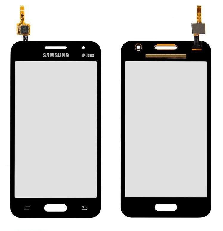 Сенсор (Тачскрін) для Samsung Galaxy Core 2 Duo G355H (Чорний) Оригінал Китай