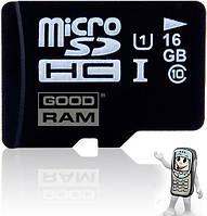 Карта памяти microSD 16GB Class 10