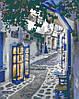 Картина за номерами Вуличками Греції, 40*50 см, без коробки RB