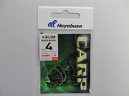 Крючек Hayabusa H.Bil288 Black Nickel №4