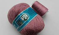 Пряжа Пух норки Китай COOMAMUU цвет 863 розовая сирень
