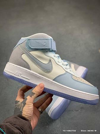 Кросівки  Nike Air Force 1 Mid Light Armoury Blue