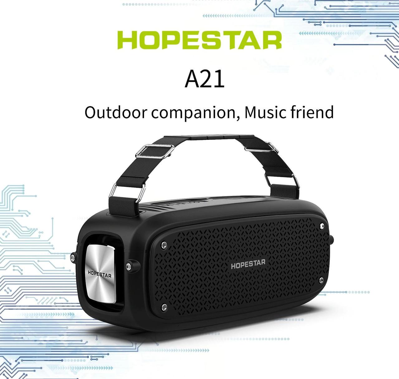 Портативна Bluetooth колонка Hopestar A21