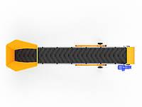 Конвейер с шевронной лентой для тяжелых сыпучих материалов ЛТ-4-500