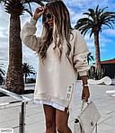 Платье-худи (Батал), фото 3