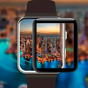 Защитное стекло Apple Watch 42mm 5D