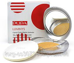 Компактная запеченная пудра для лица Pupa Luminys Silky Baked Face Powder