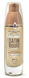 Тональная основа Maybelline Dream Satin Liquid Foundation SPF13, 30 мл.