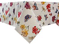 "Скатерть праздничная ""Hibiscus II"" ТМ Lеfard, размер 140х180 см"