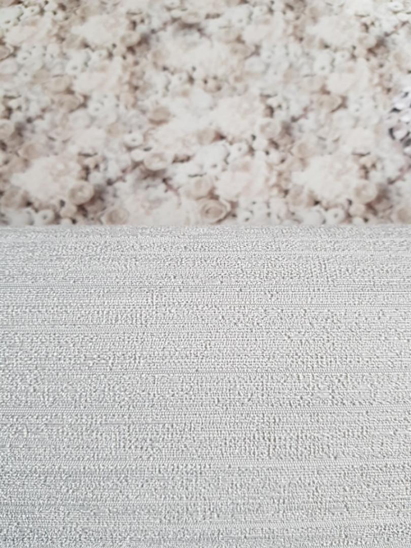 Метровые обои виниловые на флизелине AS creation Textures однотонные серые