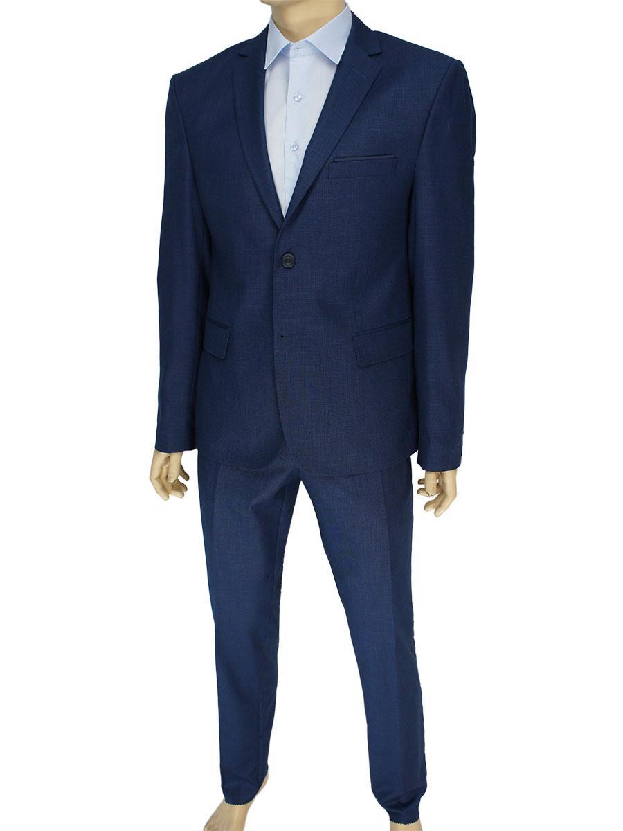 Темно-синій чоловічий класичний костюм Daniel Perry C: 267 # 31 Blue