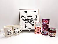 """Подарочный Бокс """"Happy Valentines Day"""" Чайный"""