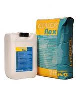 Coverflex комплект 30 кг - еластична двокомпонентна гідроізоляція Litokol Каверфлекс