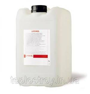 LATEXKOL - добавка для цементних клеїв, каністра 10 кг