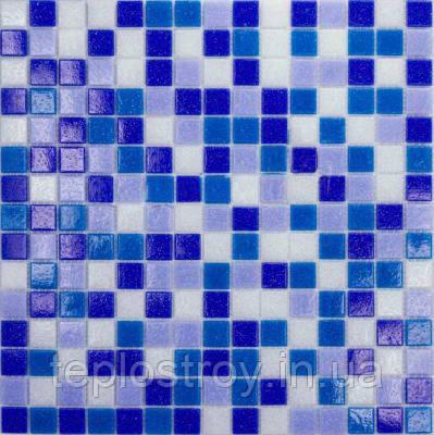 """Мікс зі скляної мозаїки Eco-mosaic """"Манка"""" 2х2см MDA 346"""