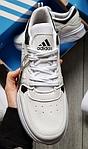 Чоловічі кросівки Adidas Drop Step (білі) 577TP спортивні демісезонні кроси на весну, фото 9