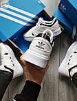 Чоловічі кросівки Adidas Drop Step (білі) 577TP спортивні демісезонні кроси на весну, фото 5