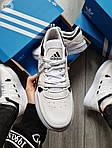 Чоловічі кросівки Adidas Drop Step (білі) 577TP спортивні демісезонні кроси на весну, фото 2