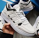Чоловічі кросівки Adidas Drop Step (білі) 577TP спортивні демісезонні кроси на весну, фото 10