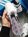 Чоловічі кросівки Adidas Drop Step (білі) 577TP спортивні демісезонні кроси на весну, фото 4