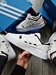 Чоловічі кросівки Adidas Drop Step (білі) 577TP спортивні демісезонні кроси на весну, фото 8