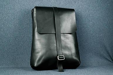 Рюкзак Трансформер, Кожа Итальянский краст, цвет Черный