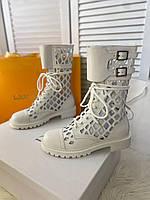 Крутые кожаные ботинки Dior (реплика)