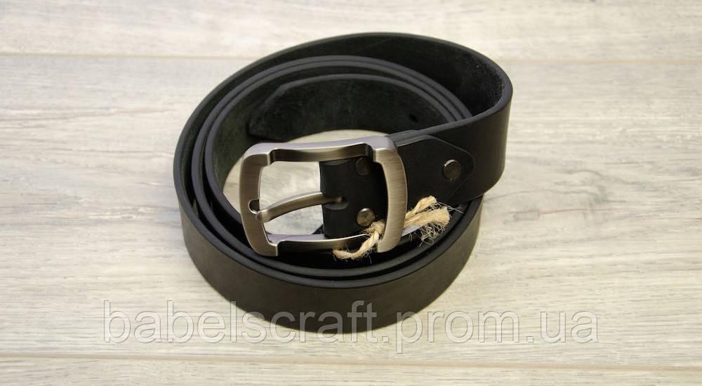 Ремень для джинсов Babel's Craft Resty, Черный, Маленький 100см. - 110см.