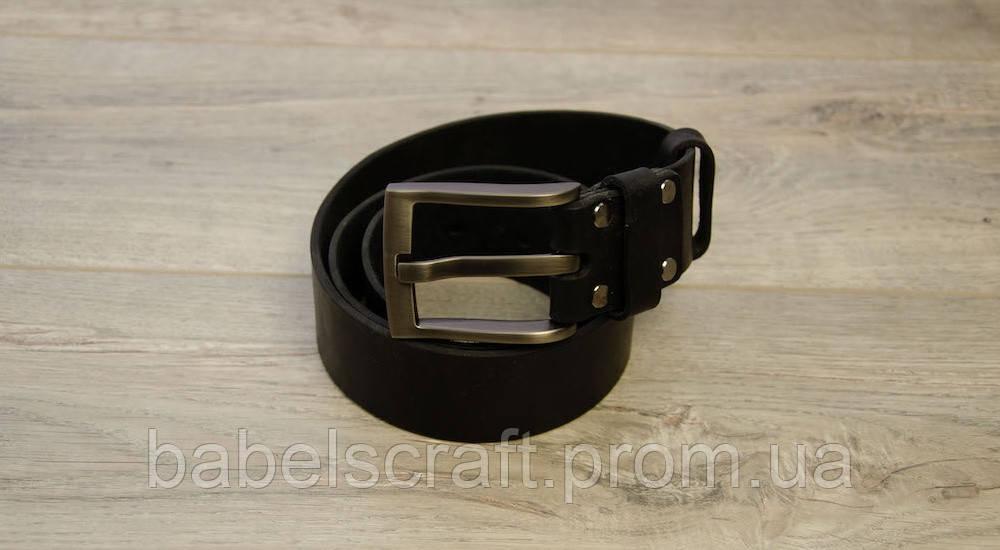 Ремень для джинсов Babel's Craft Man, Черный, Маленький 100см. - 110см.