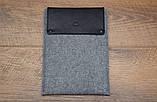 Чохол Babel's Craft Lep для MacBook Pro 13 (M1, 2020-2016), чорний з сірим, фото 2
