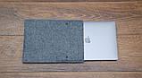 Чохол Babel's Craft Lep для MacBook Pro 13 (M1, 2020-2016), чорний з сірим, фото 3