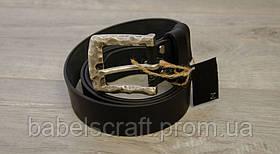 Ремінь для джинсів Babel's Craft Wave, Чорний, Середній 115см. - 125см.