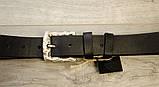 Ремень для джинсов Babel's Craft Wave, Черный, Средний 115см. - 125см., фото 3