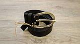 Ремень для джинсов Babel's Craft West, Черный Маленький 100см. - 110см., фото 5